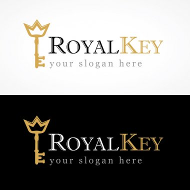 Royal key logo