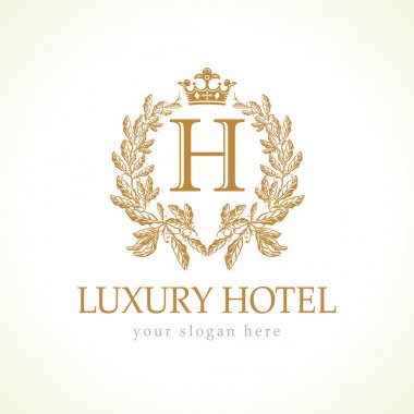 Luxury hotel logo