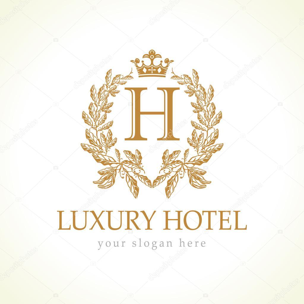 Luxury hotel logo stock vector koltukov alek 81125398 for Luxury hotel company