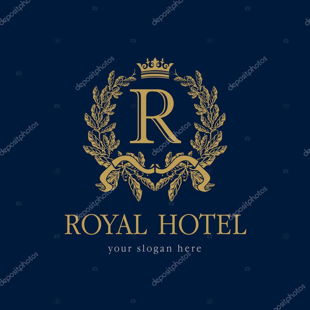 Royal Hotel Logo Stock Vector 169 Koltukov Alek 81131596