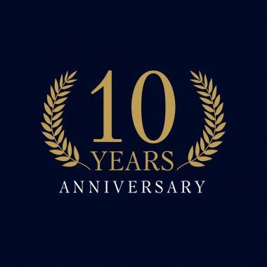 10 anniversary royal logo