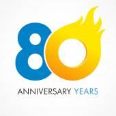 Fotografie 80 Jahre Flammenlogo