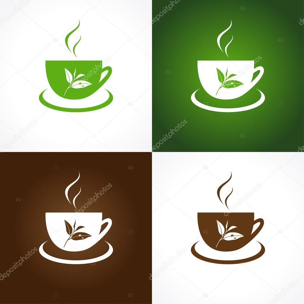 Tea company logo.