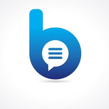 Communication business B logo