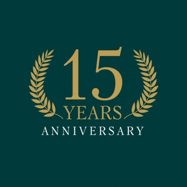 15 anniversary royal logo