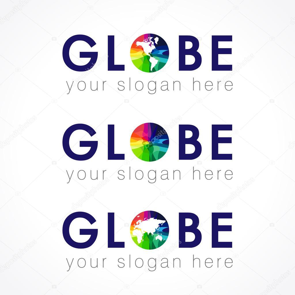 Das Globus-logo — Stockvektor © Koltukov_Alek #87973378