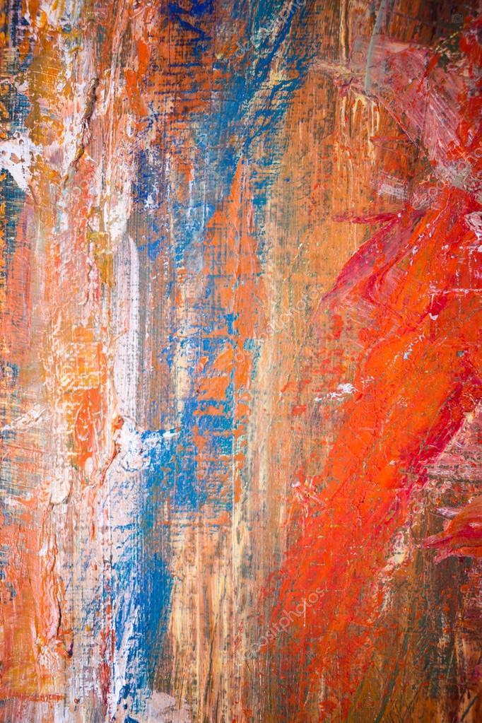 Peinture artistique couleurs vives peintures