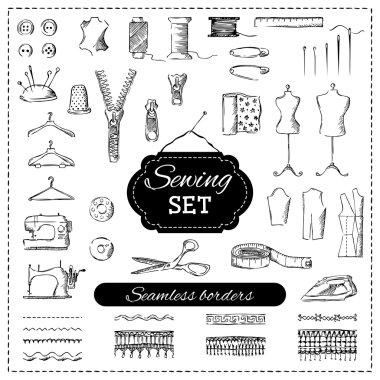 Sewing set.