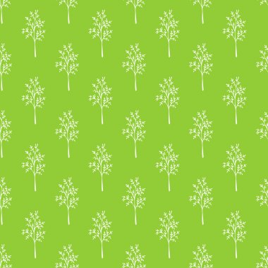 Seamless green grass pattern.
