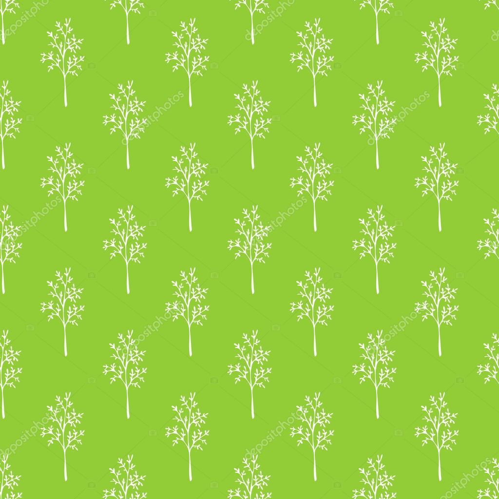 Seamless green grass pattern.