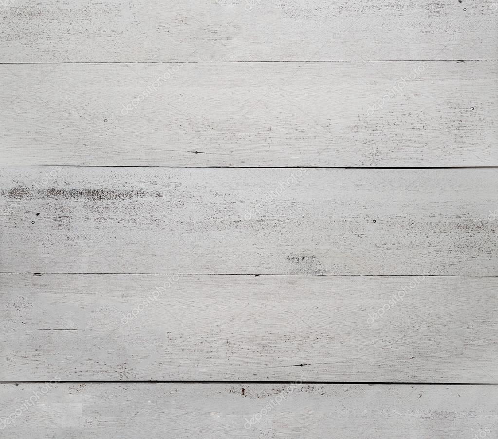 Antique White Wooden Background