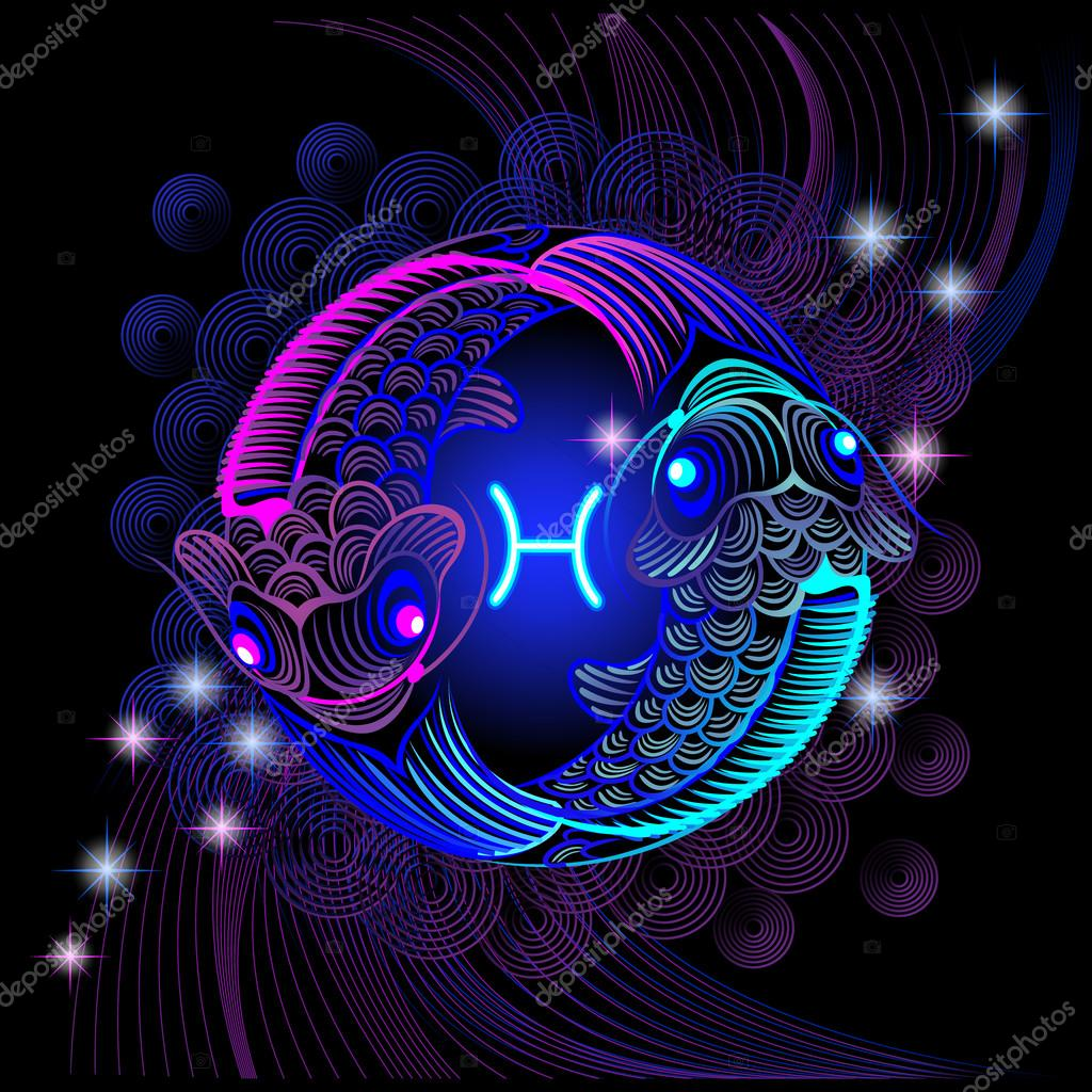 Neon signs of the Zodiac: Pisces