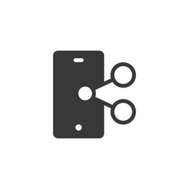 Smartphone icon. Camera symbol modern, simple, vector, icon for website design, mobile app, ui. Vector icon