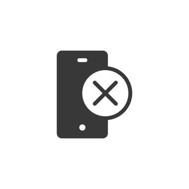 Smartphone icon. Phone symbol modern, simple, vector, icon for website design, mobile app, ui. Vector icon