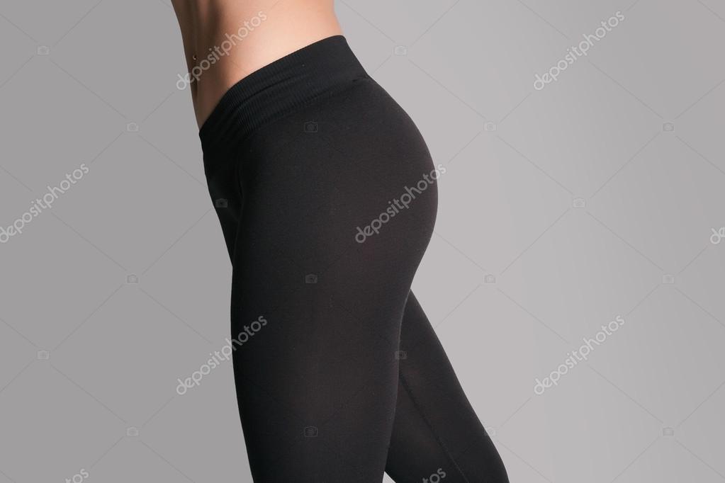 Nero teen yoga pantaloni