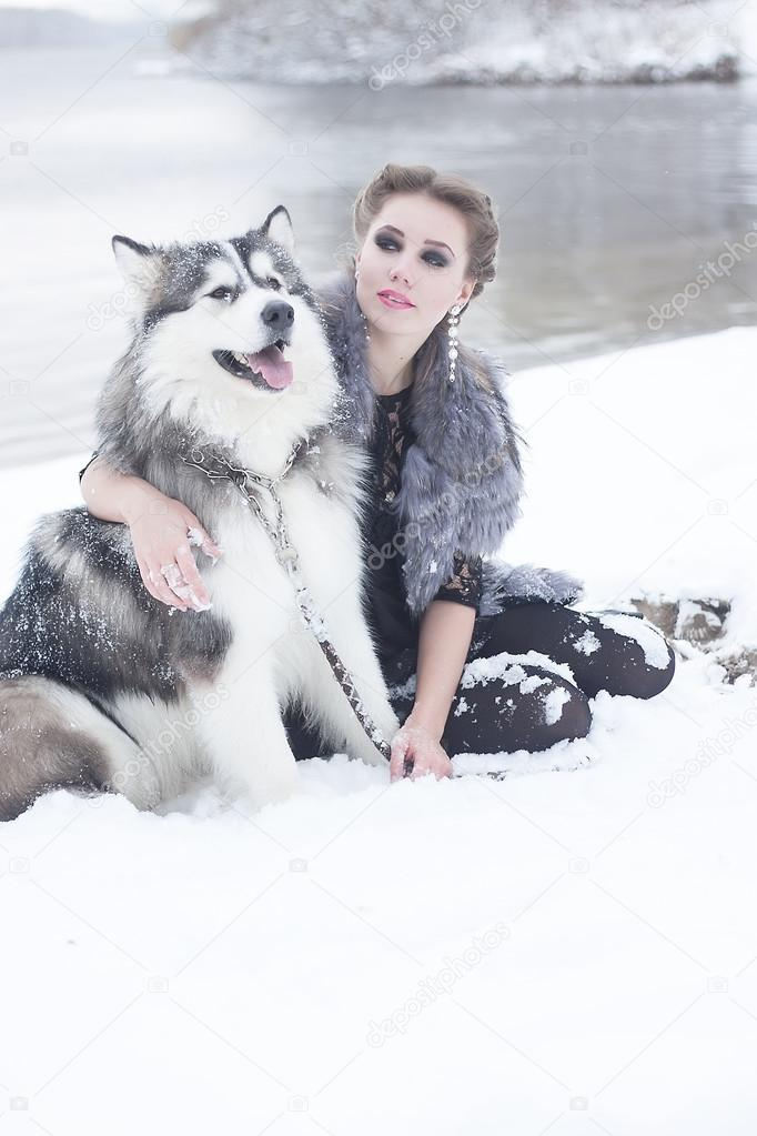 ᐈ Wolf with girl stock pictures, Royalty Free wolf girl photography |  download on Depositphotos®