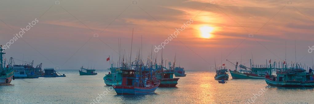 traditional asian fishing