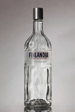 Bottle of Finlandia vodka