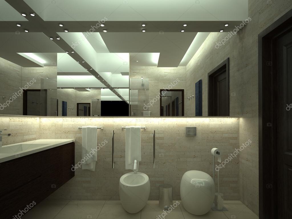 rendern von luxus toilette stockfoto 88605572. Black Bedroom Furniture Sets. Home Design Ideas