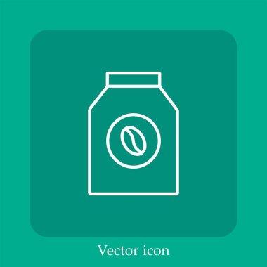 Milk vector icon linear icon.Line with Editable stroke icon