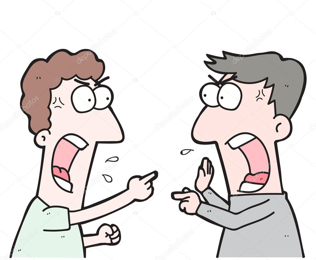 cartoon two people arguing stock vector maneeh 111081074 rh depositphotos com couple arguing clipart free clipart arguing