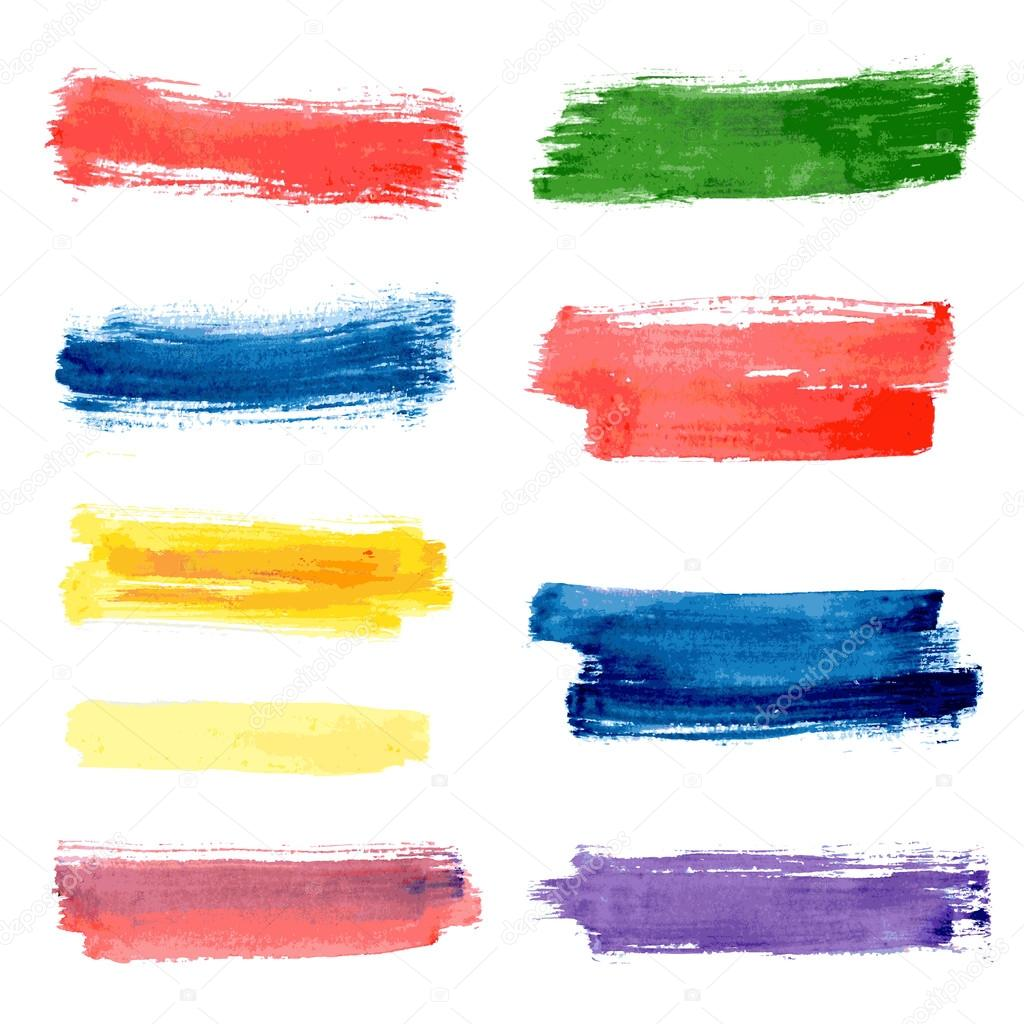 stripes watercolor