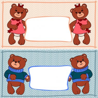 banner bear boys and girls
