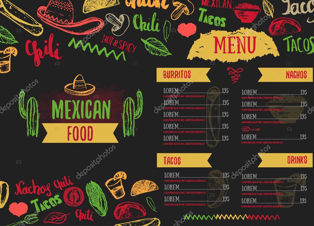 El Rincon Mexican Restaurant Menu