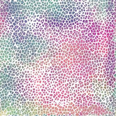 Vector colorful broken tile pattern for your design - website background, poster, banner. EPS10