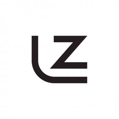 Lz initial letter vector logo icon icon