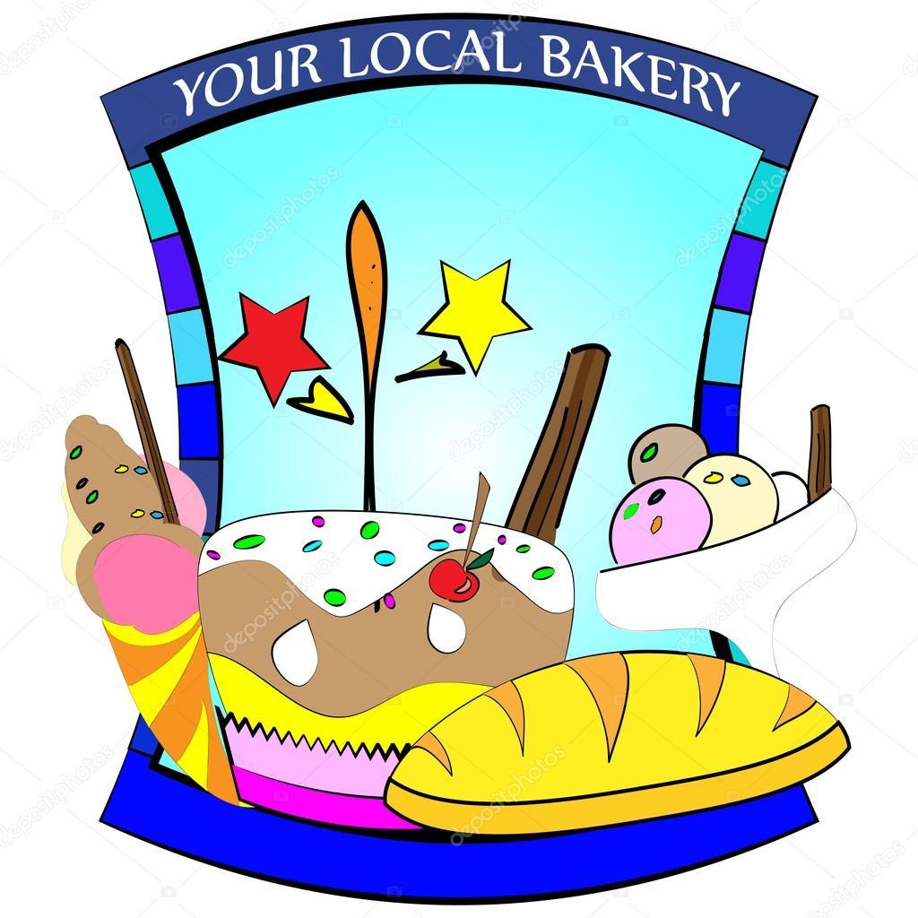 logotipo de la tienda del caramelo — Archivo Imágenes Vectoriales ...