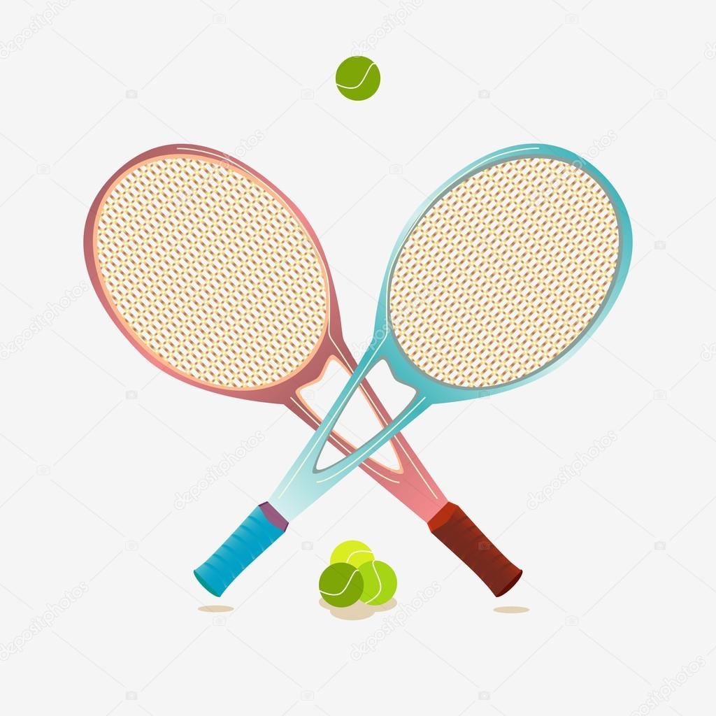 huge selection of 50a8e df2cc Tennisausrüstung — Stockvektor © Andrew13 #69442593
