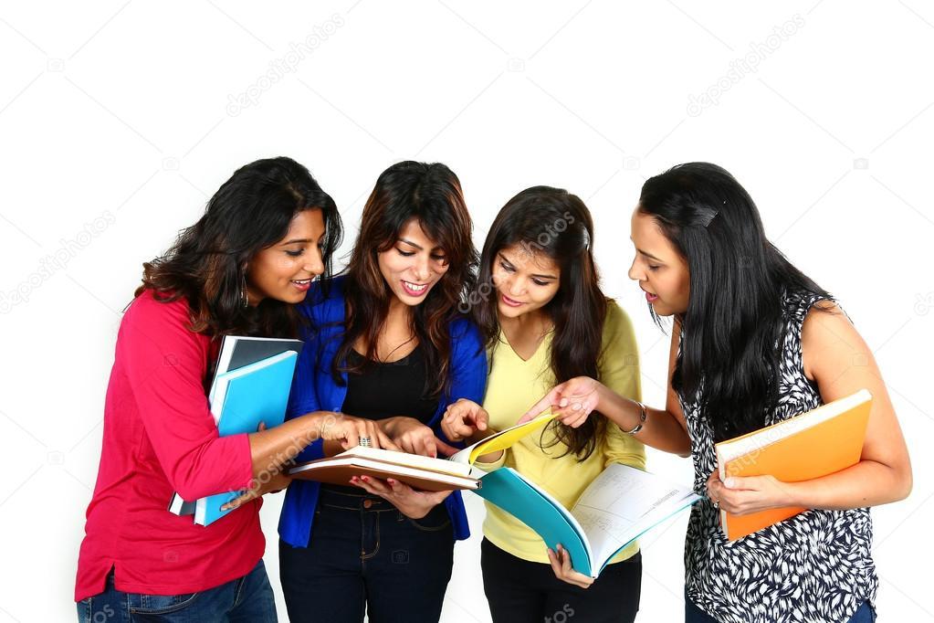 Група індійський коледж студенти — Стокове фото © Ashwin82