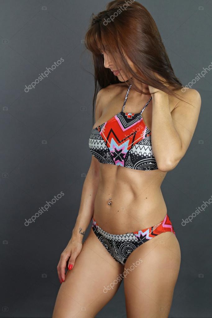 Muscular bikinis pics