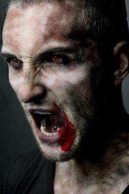 Vampire halloween man
