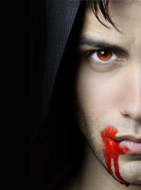 Handsome vampire