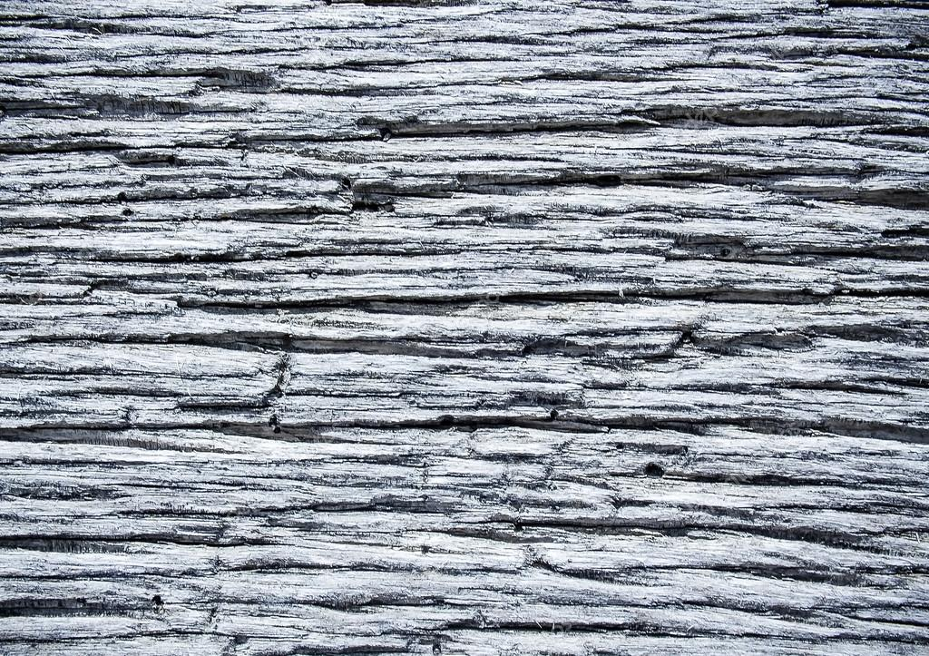 Dark and cracked old wood texture