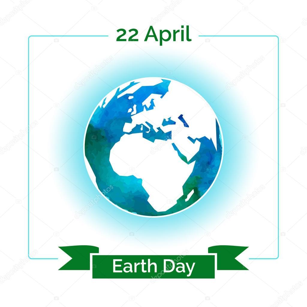 Vektor-Plakat für 22 April, Tag der Erde — Stockvektor © GL_Sonts ...