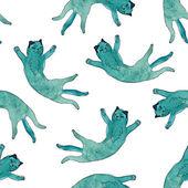Fényképek aranyos macskák, szürke és zöld színekben