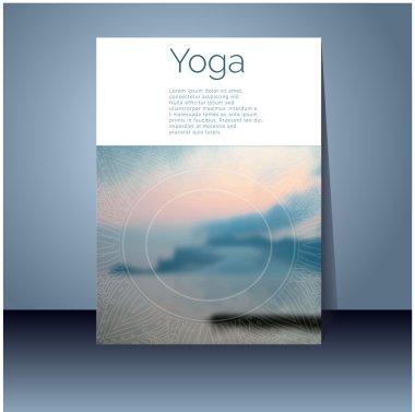 Banner design for yoga studio