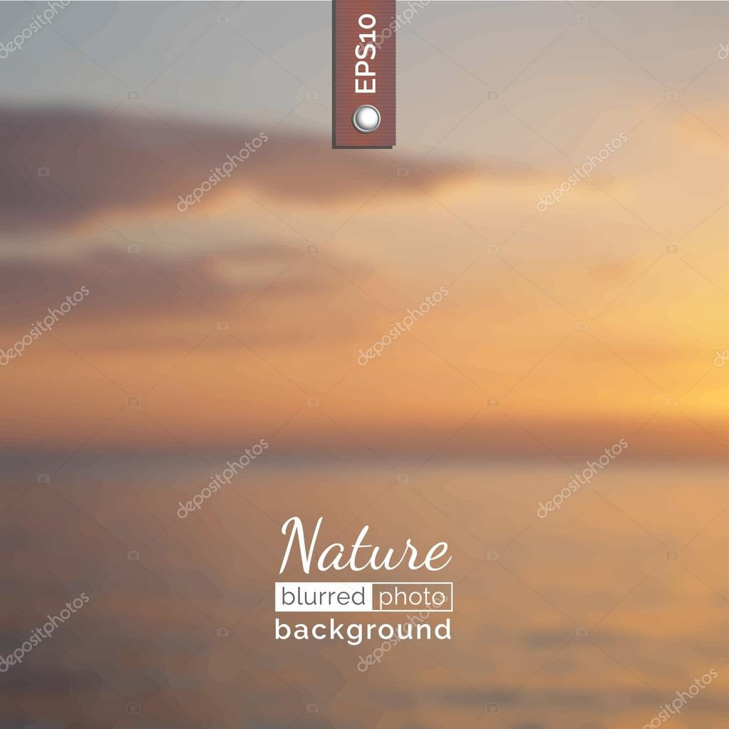 Backdrop with nature for poster.
