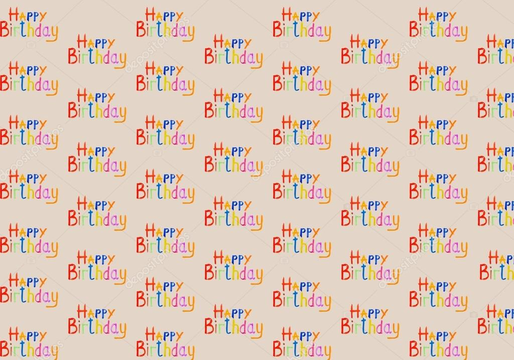 Inscription happy birthday watercolor stock photo multi colored inscriptions happy birthday watercolor on a beige background it is possible to use as backgrounds or cards for a congratulation photo by bookmarktalkfo Choice Image