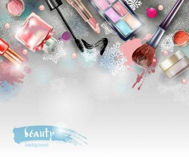 Christmas Cosmetics and fashion