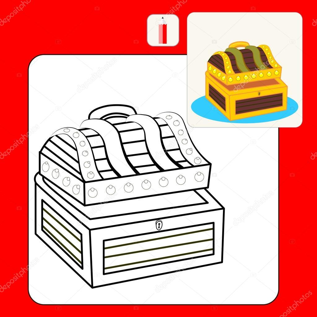 Boek Kleurplaten Stockvector C Olianat 101811380