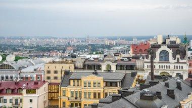 Kyiv roofs.