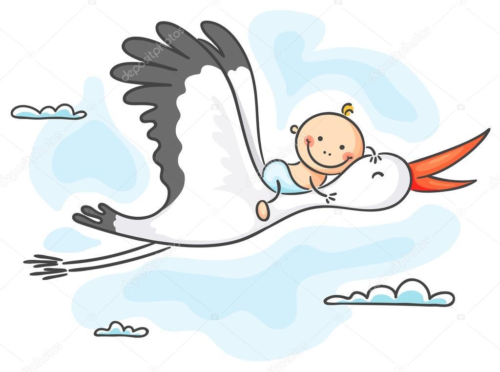 Áˆ Cartoon Stork Stock Illustrations Royalty Free Stork Vectors Download On Depositphotos