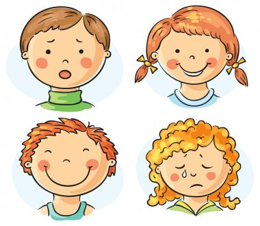 Kids faces