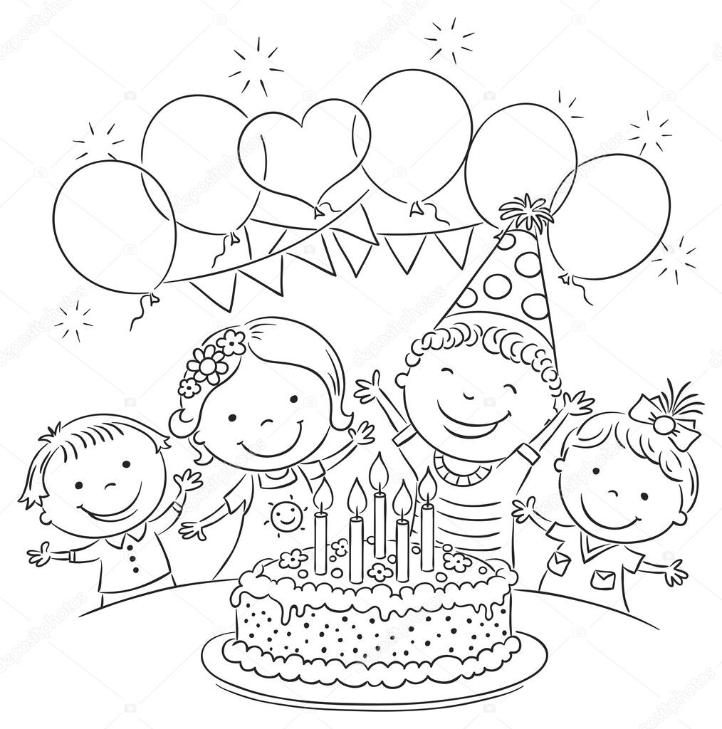 Kids Birthday Party Outline