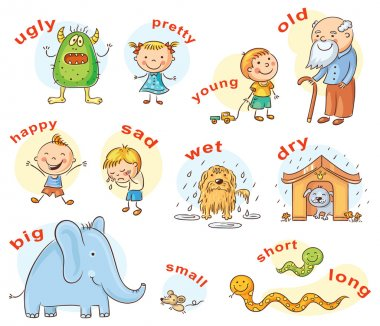 Antonyms Cartoons