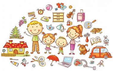 Family life and household set